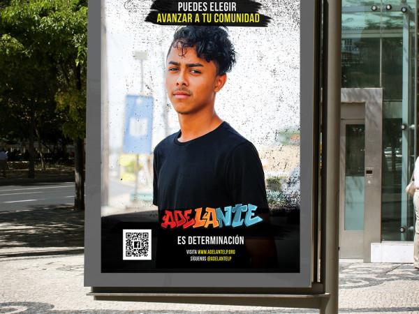Adelante Bus Shelter Ad 2