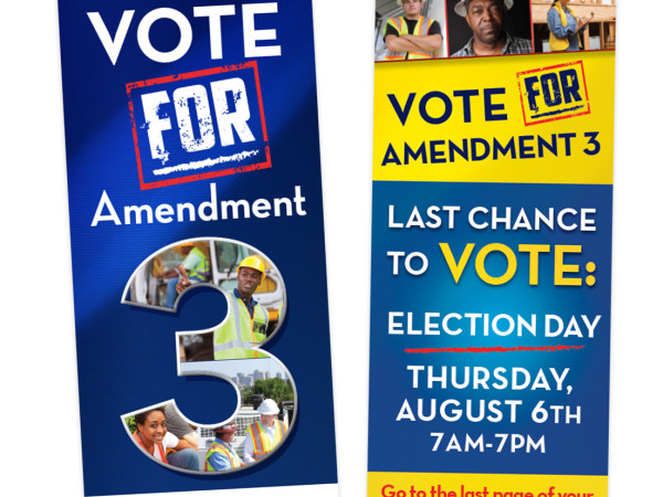 Amendment 3 doorhanger