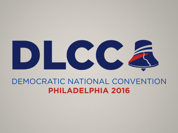 DLCC 2016 Convention logo: branding for events in Philadelphia: illustrator
