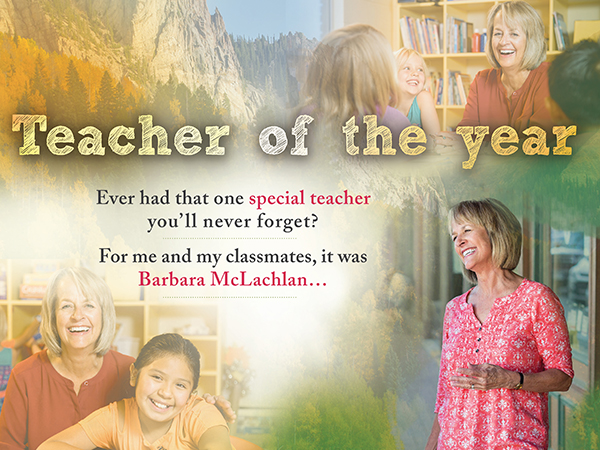 teacher of the year
